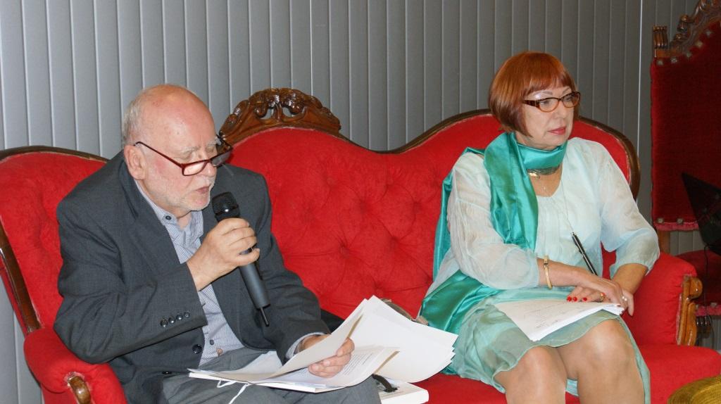 Mewa literacka – Adam Zagajewski i Renata Gorczyńska