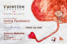 """Spotkanie z Iwoną Paulewicz / """"Cicho… miłość się rodzi"""""""