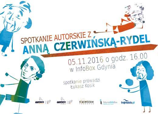 Anna Czerwińska-Rydel – spotkanie autorskie