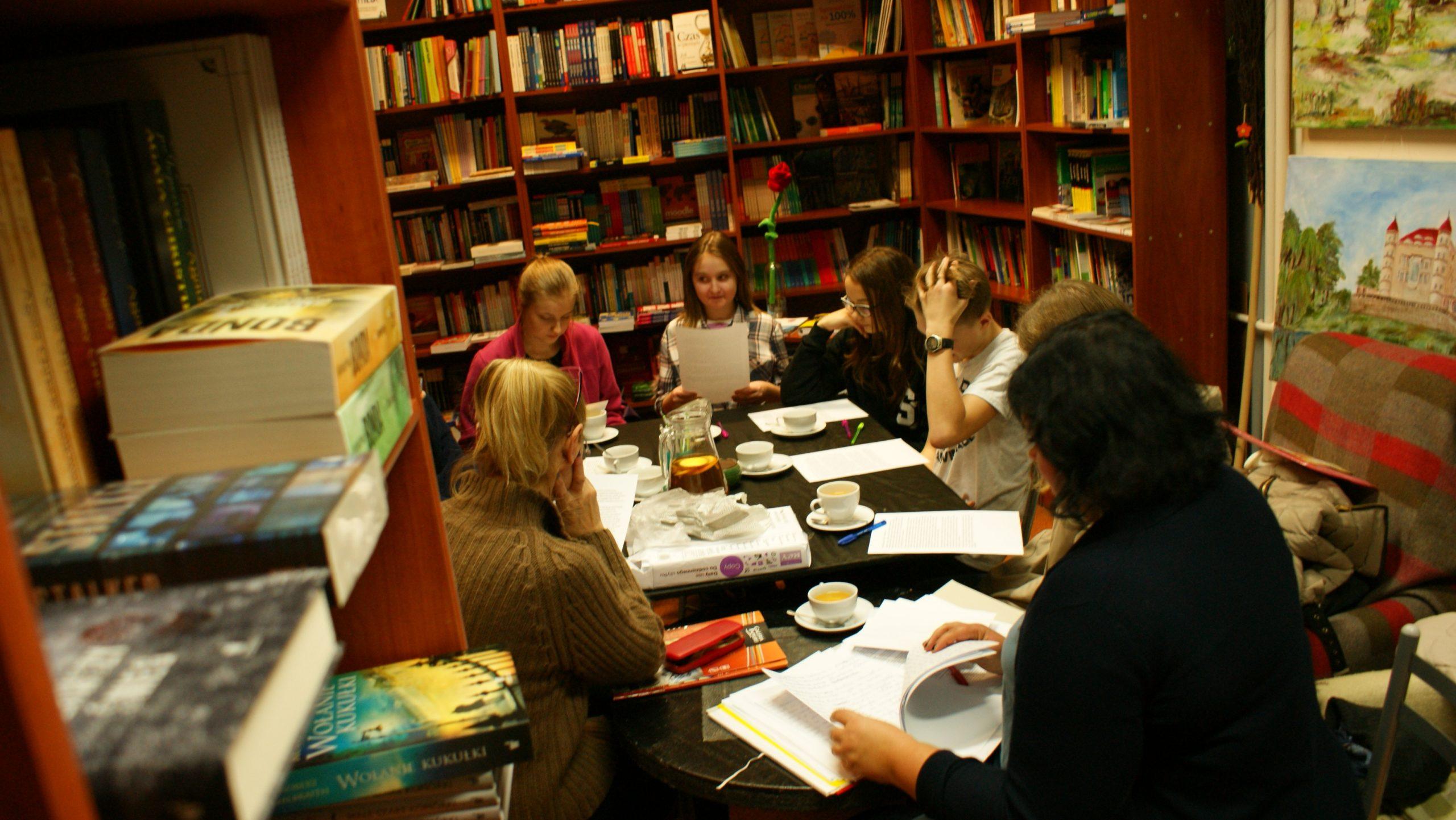 Zdjęcia z warsztatów literackich 2016