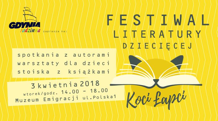 Festiwal Literatury Dziecięcej Koci Łapci w Gdyni
