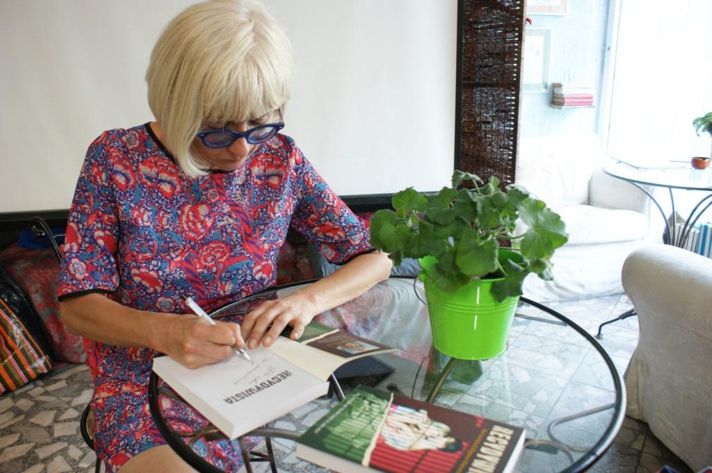 Zdjęcia ze spotkania z Mariną Hulią