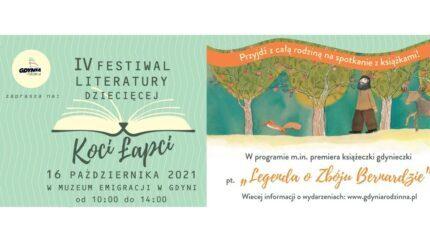 IV Festiwal Literatury Dziecięcej Koci Łapci